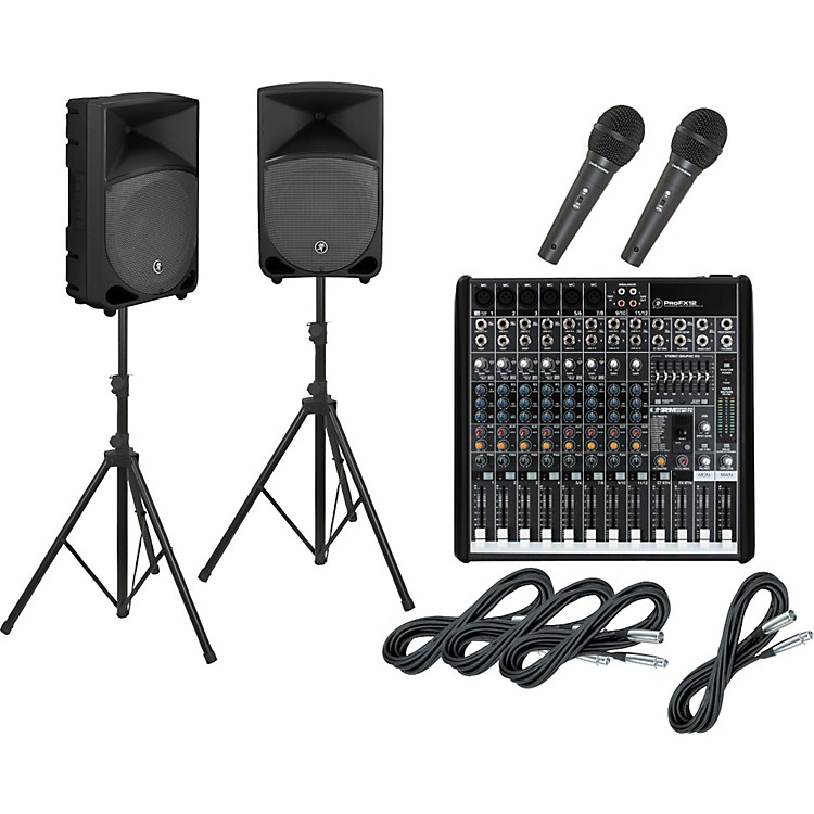 MackieProFX12 / TH-15A PA Package