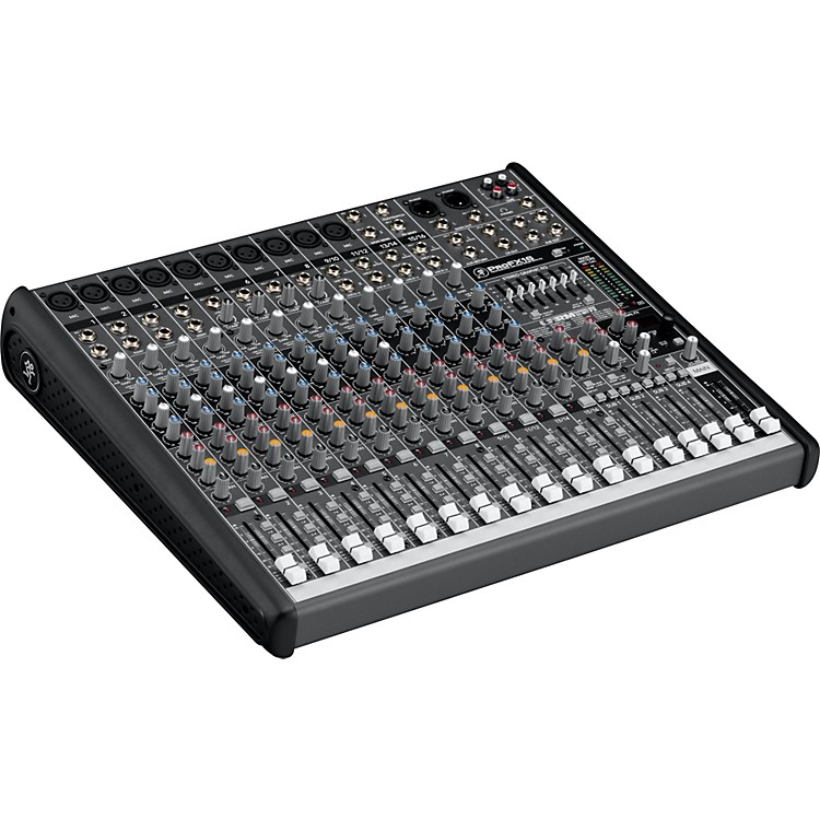 MackieProFX16  Compact 4-Bus Mixer with USB & Effects
