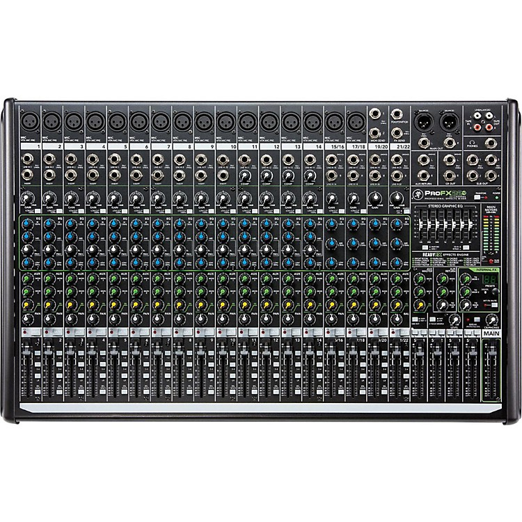 MackieProFX22v2 22-Channel 4-Bus FX Mixer with USB