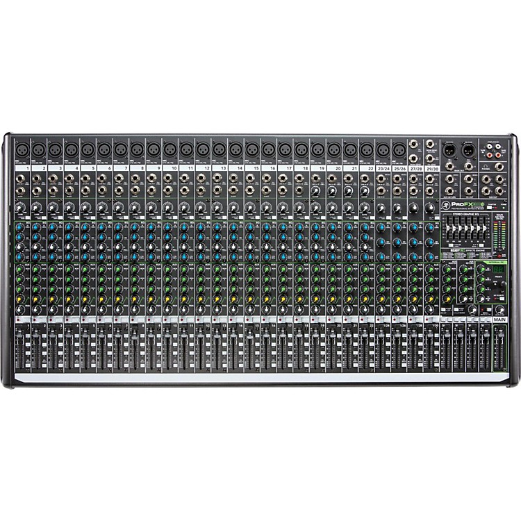 MackieProFX30v2 30-Channel 4-Bus FX Mixer with USB