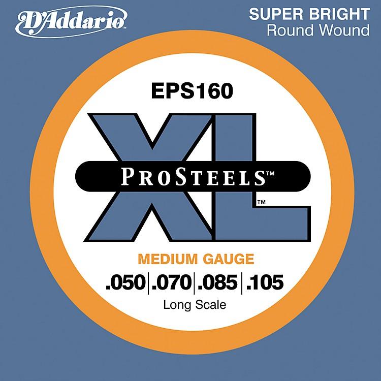 D'AddarioProSteels EPS160 Medium Gauge Long Scale Bass Strings