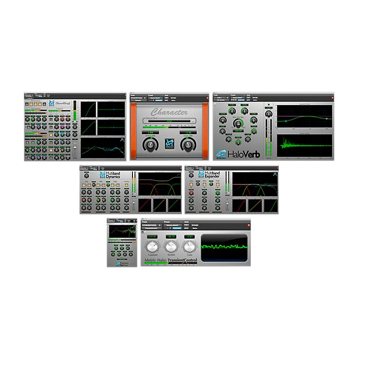METRIC HALO Production Bundle for Pro Tools AAX Software Download