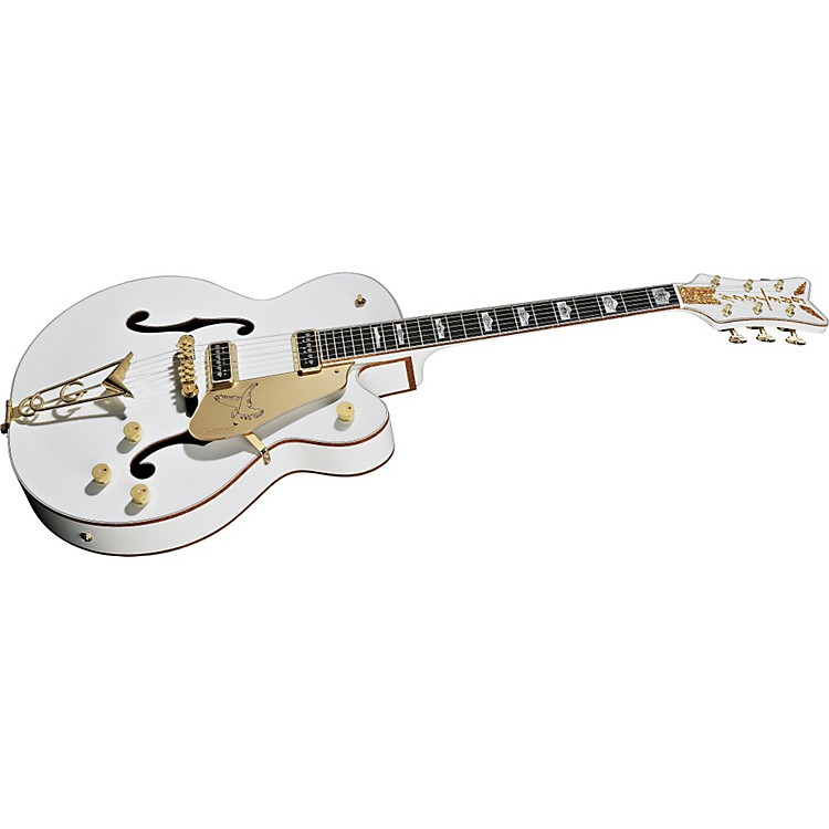 Gretsch Guitars Professional Collection Falcon G6136DS Electric Guitar White