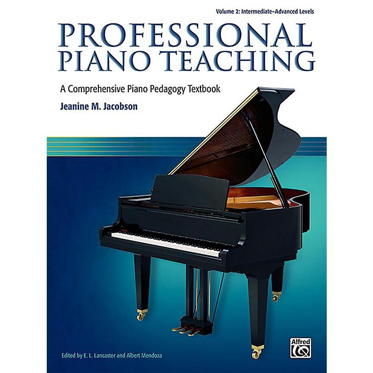 AlfredProfessional Piano Teaching, Volume 2 - Intermediate / Advanced