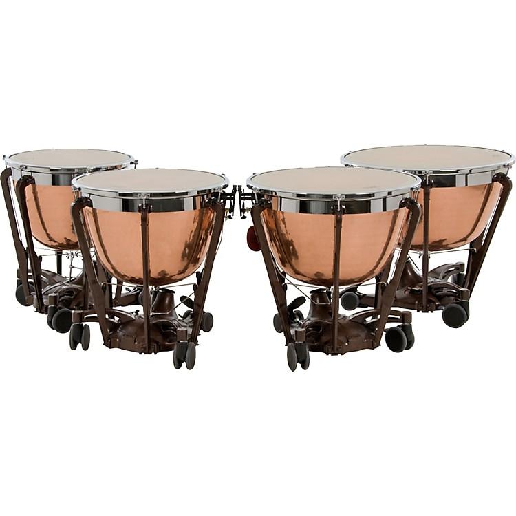 AdamsProfessional Series Generation II Cambered Copper Timpani, Set of 4