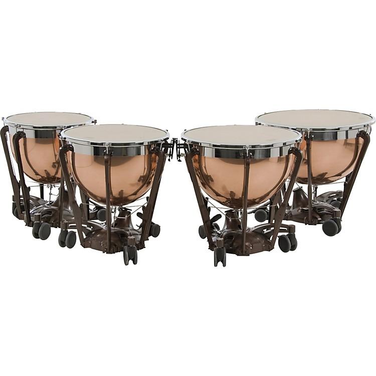 AdamsProfessional Series Generation II Polished Copper Timpani, Set of 4