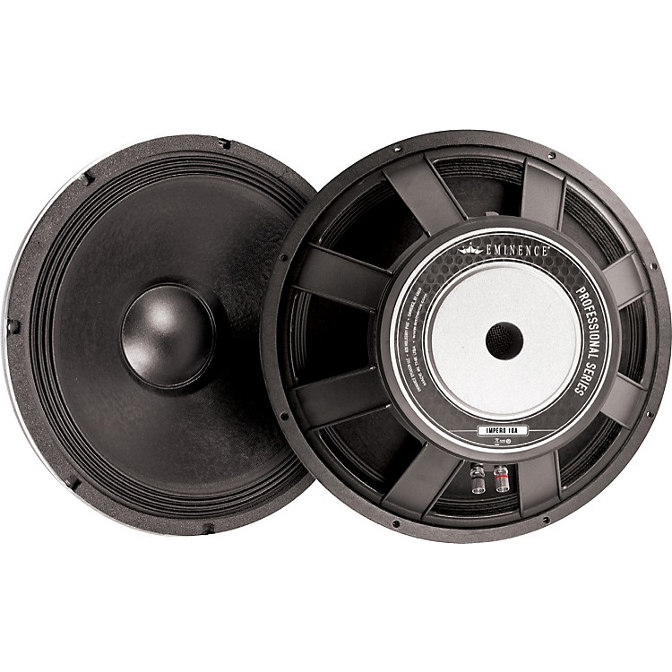 Eminence Professional Series Speakers 18 in.