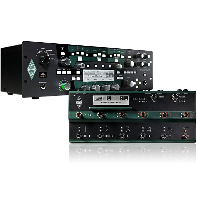 KemperProfiler PowerRack 600W Guitar Rack Head + Remote Bundle