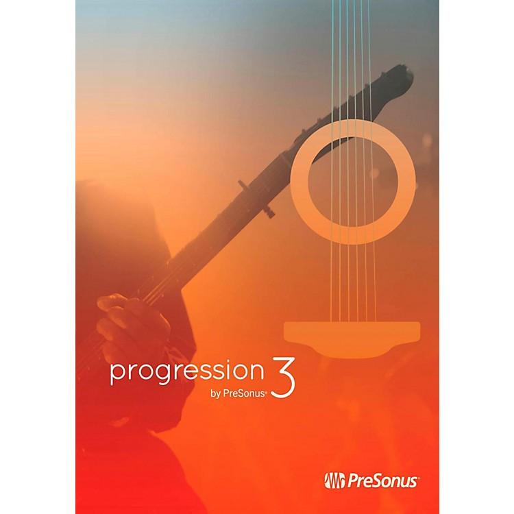 PreSonusProgression 3 Music Notation Software
