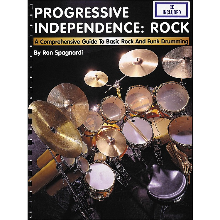 Hal Leonard Progressive Independence Rock Book/CD