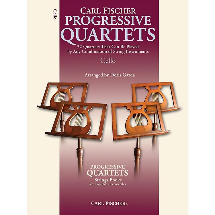 Carl FischerProgressive Quartets for Strings- Cello (Book)