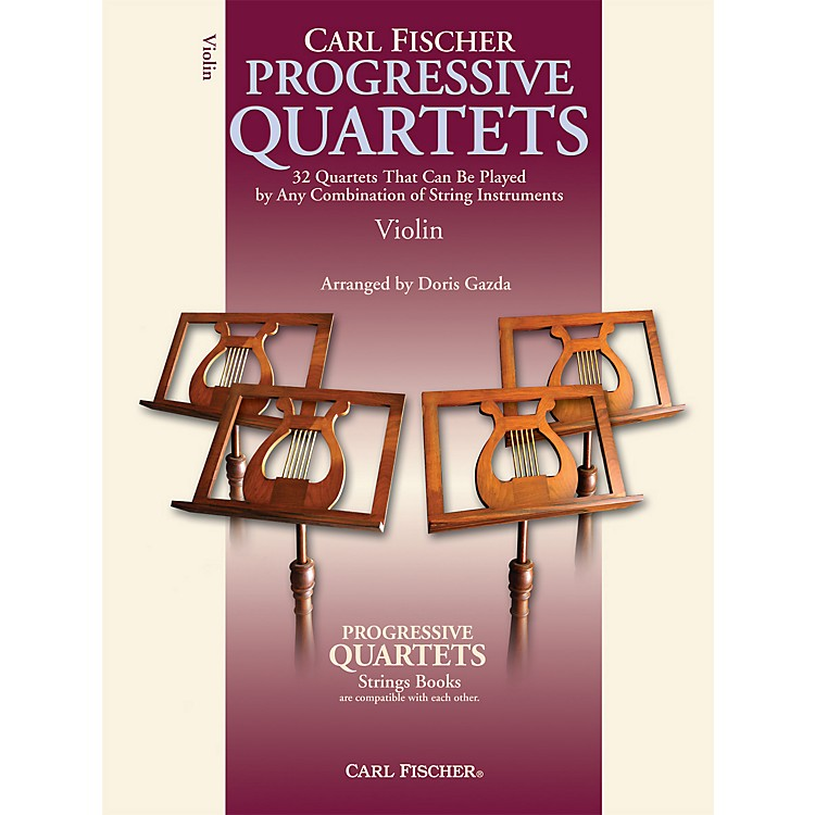 Carl Fischer Progressive Quartets for Strings- Violin (Book)