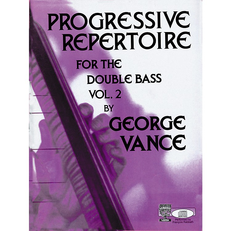 Carl Fischer Progressive Repertoire For the Double Bass Volume 2