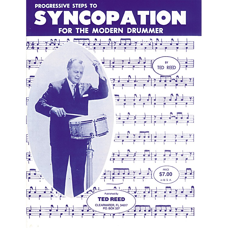 AlfredProgressive Steps to Syncopation for the Modern Drummer Book