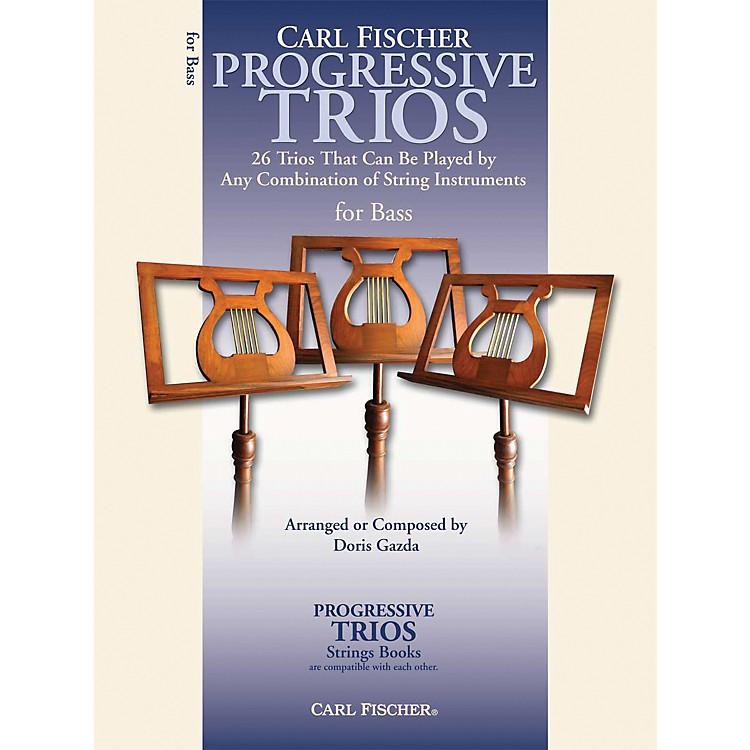 Carl FischerProgressive Trios for Strings - String Bass Book