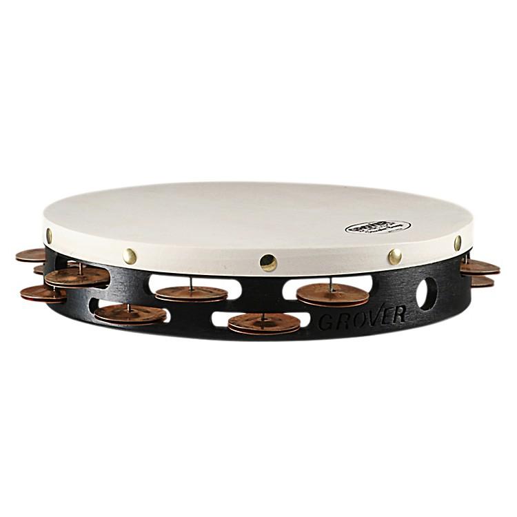 Grover ProProjection-Plus Double-Row Phosphor Bronze Tambourine10 Inch