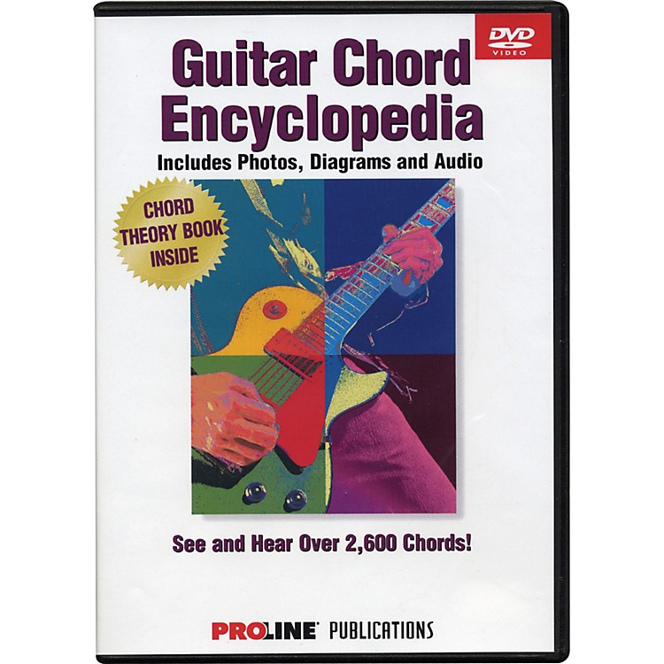 ProLine Proline Picture Chord Encyclopedia DVD