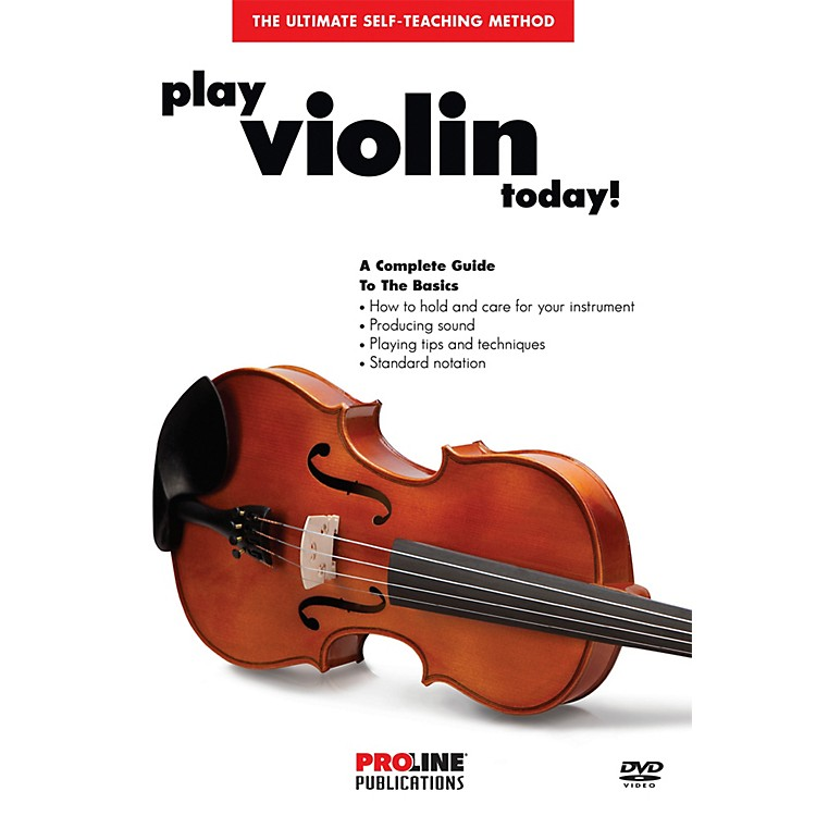 Hal Leonard Proline Play Violin Today DVD