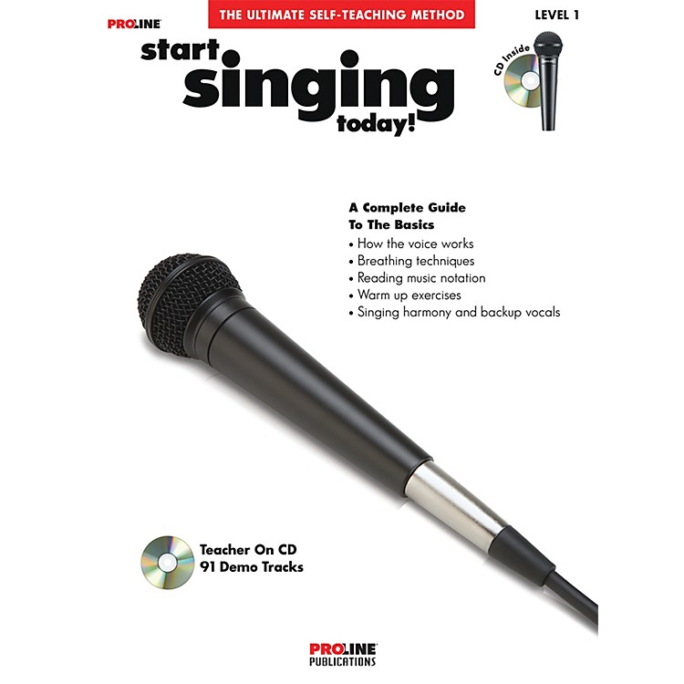 Hal Leonard Proline Start Singing Today Book/CD