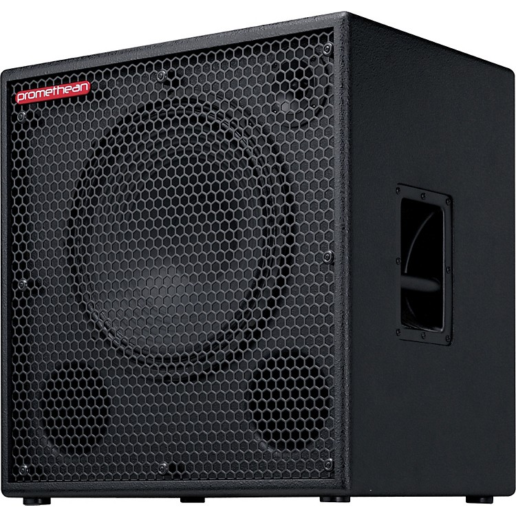 Ibanez Promethean P115C 300W 1x15 Bass Speaker Cabinet Black 4 Ohm