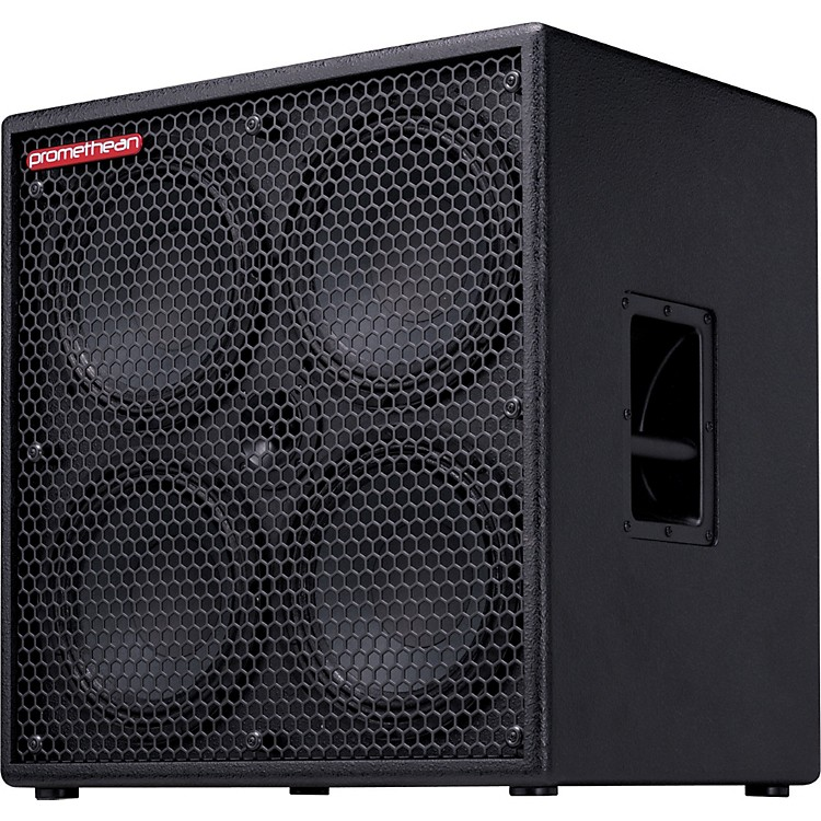 Ibanez Promethean P410C 1000W 4x10 Bass Speaker Cabinet Black 4 Ohm