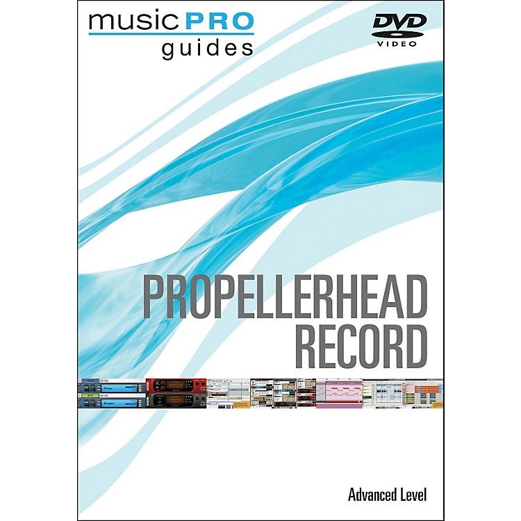 Hal LeonardPropellerhead Record Advanced Music Pro Guide Dvd