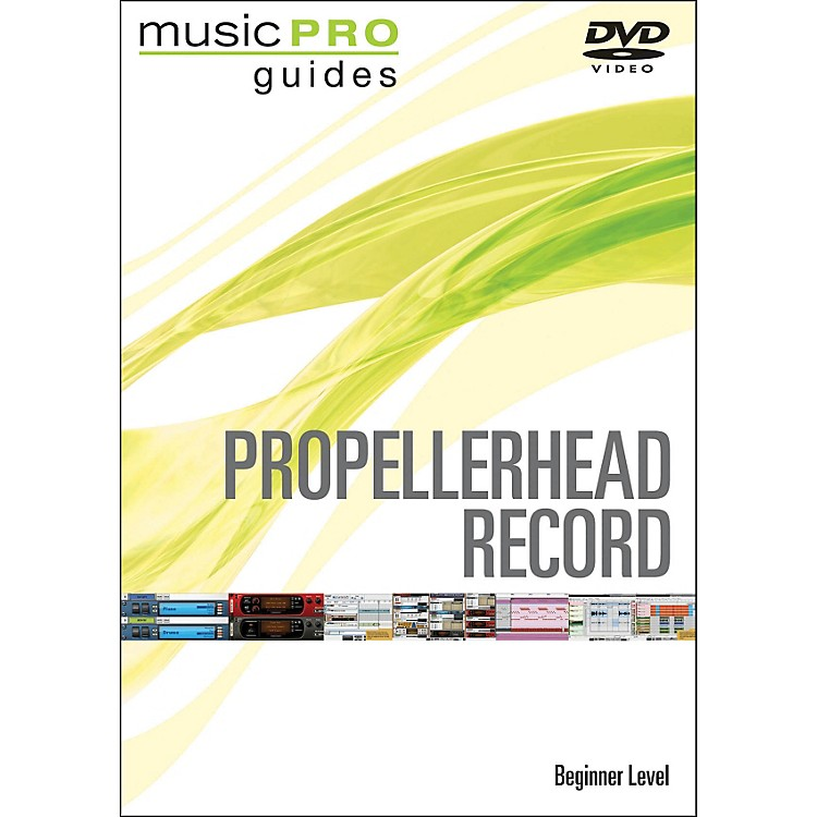 Hal Leonard Propellerhead Record Beginner Music Pro Guide Dvd
