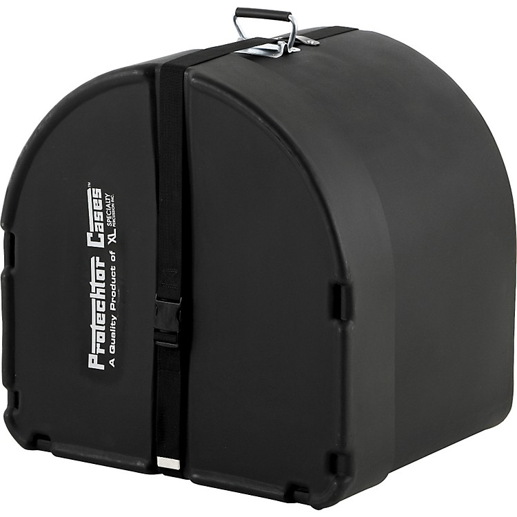 Protechtor CasesProtechtor Classic Bass Drum Case, Foam-lined24 x 18 in.Black