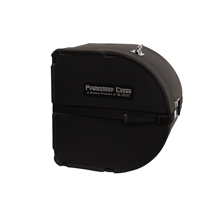 XL Specialty Percussion Protechtor Drum Case Black 22 in.