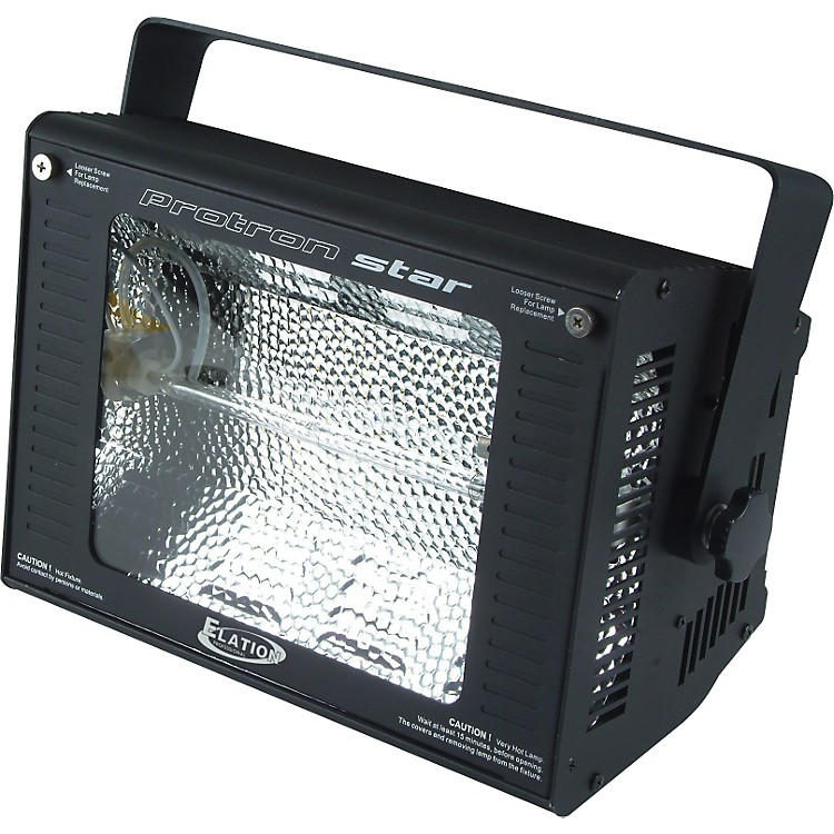 Elation Protron Star 750-Watt High-Output DMX Strobe Light