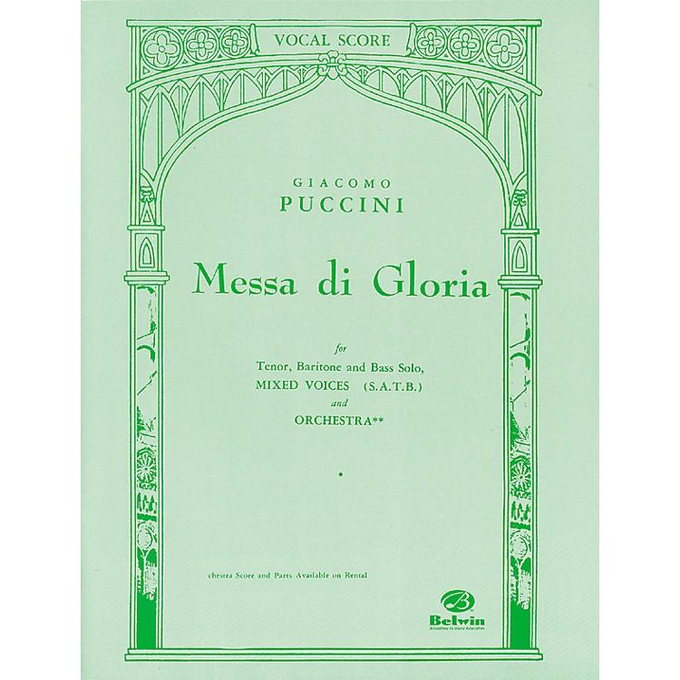 AlfredPuccini Messa Di Gloria SATB Choir