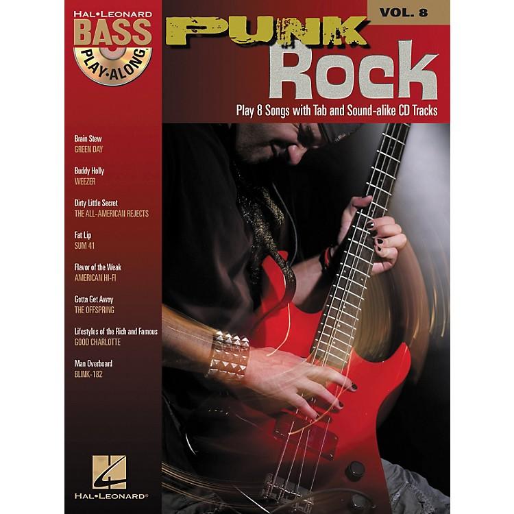 Hal LeonardPunk Rock: Bass Play-Along Series, Volume 8 (Book/CD)