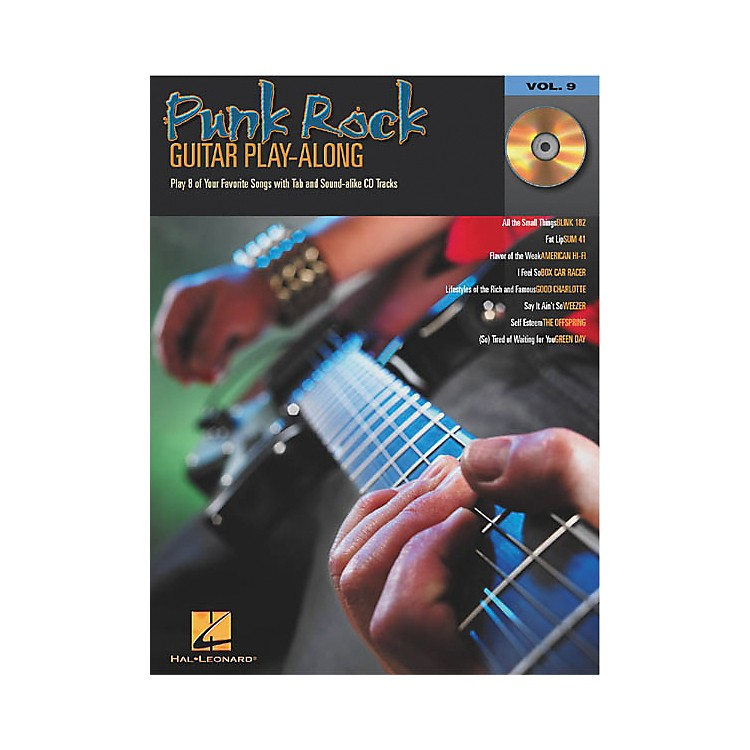 Hal Leonard Punk Rock Guitar Play-Along Series Book with CD