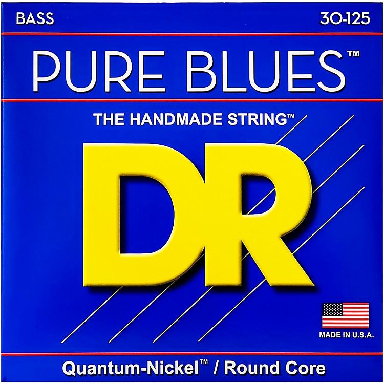 DR StringsPure Blues Medium 6-String Bass Strings (30-125)