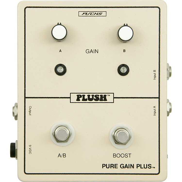 Plush Pure Gain Plus Boost Guitar Effects Pedal