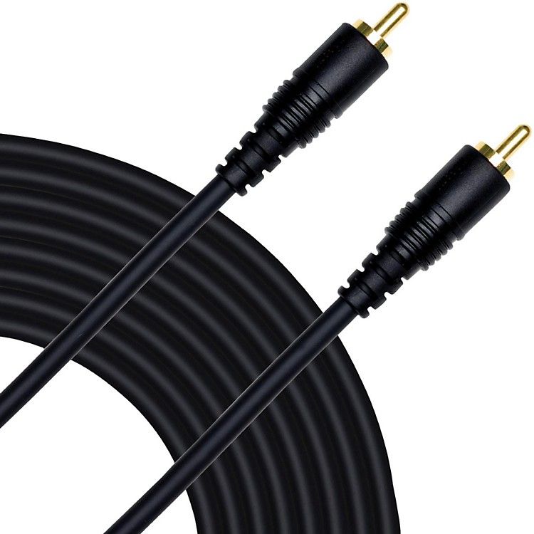 Mogami Pure Patch RCA to RCA Mono Hi-Definition Patch Cable  15 ft.