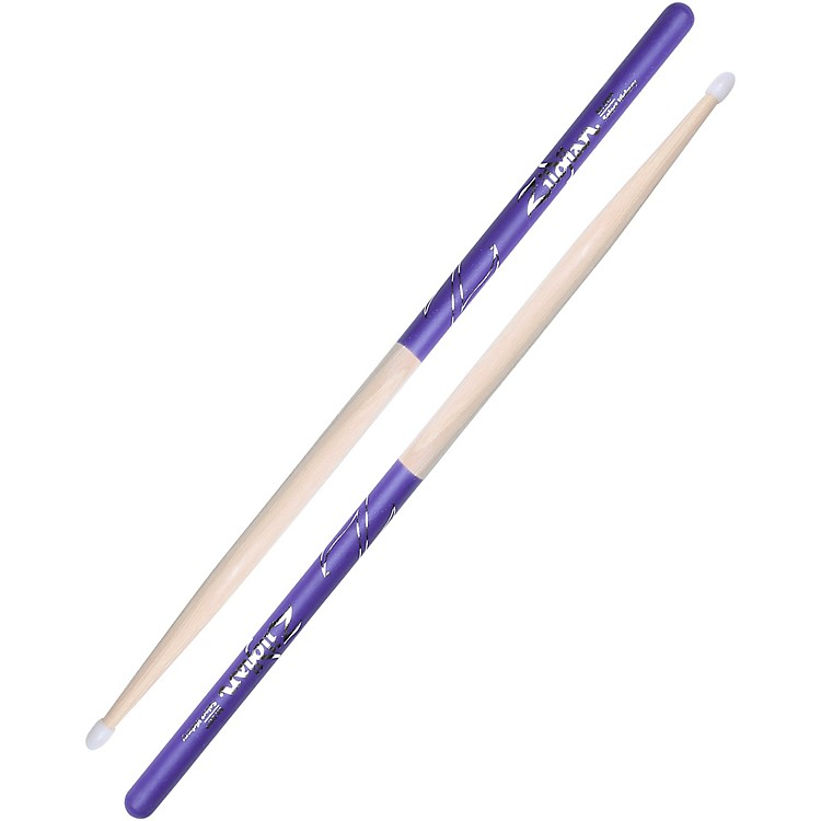 Zildjian Purple DIP Drumsticks Nylon 5A