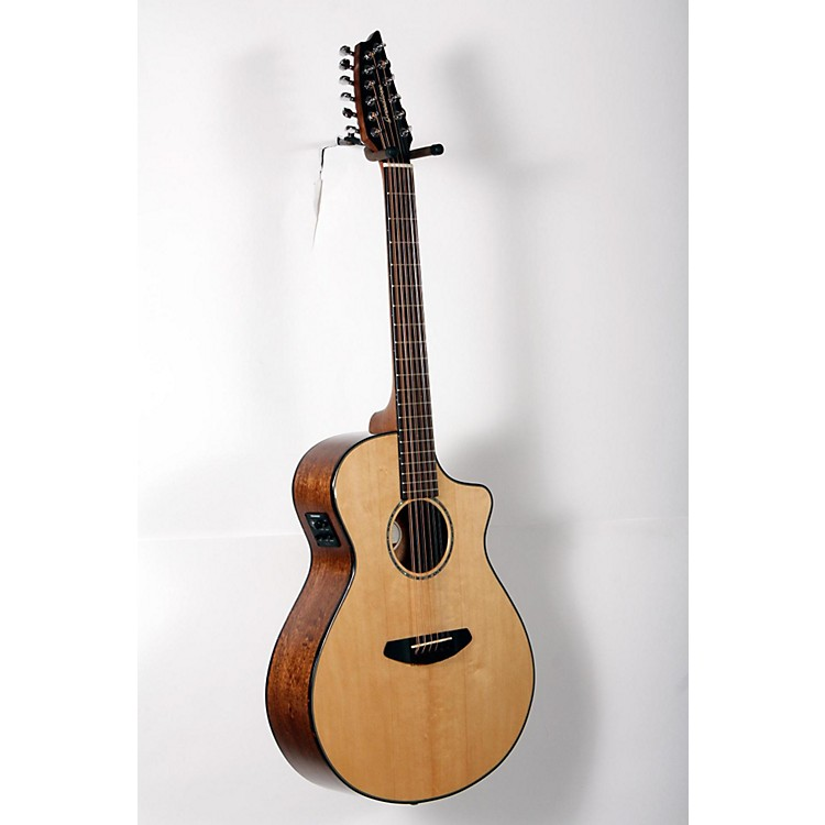 Breedlove Pursuit 12-String Acoustic-Electric Guitar Natural 888365906461