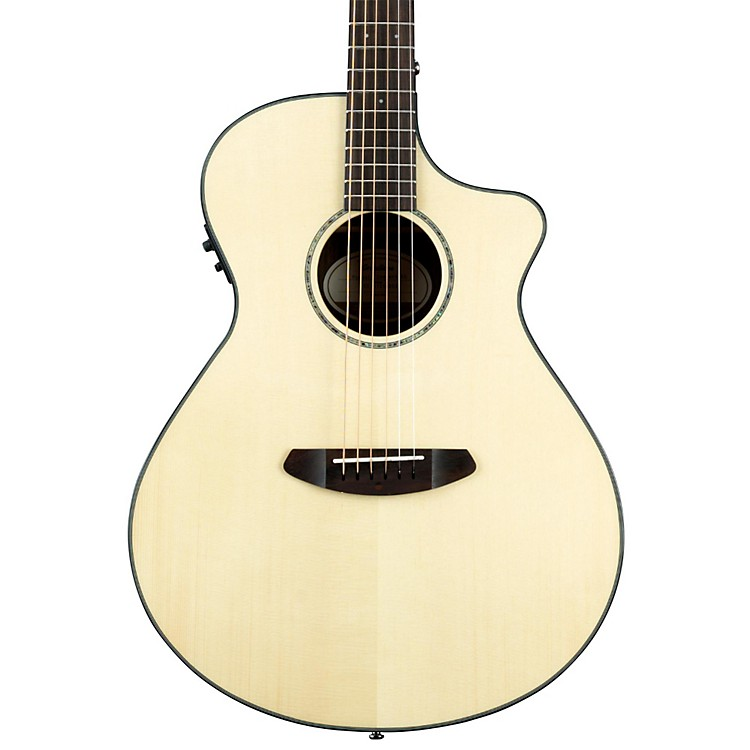 Breedlove Pursuit Concert Ebony Acoustic-Electric Guitar Natural