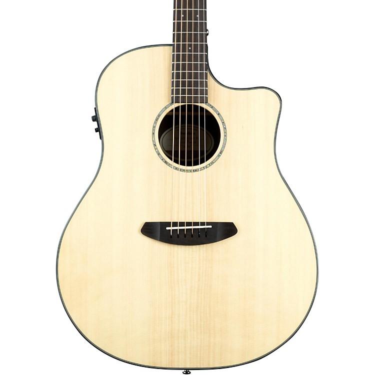 BreedlovePursuit Dreadnought Ebony Acoustic-Electric GuitarNatural
