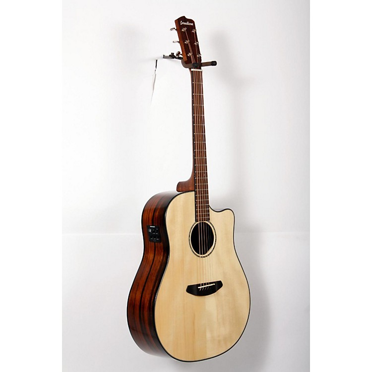 BreedlovePursuit Dreadnought Ebony Acoustic-Electric GuitarNatural888365767352