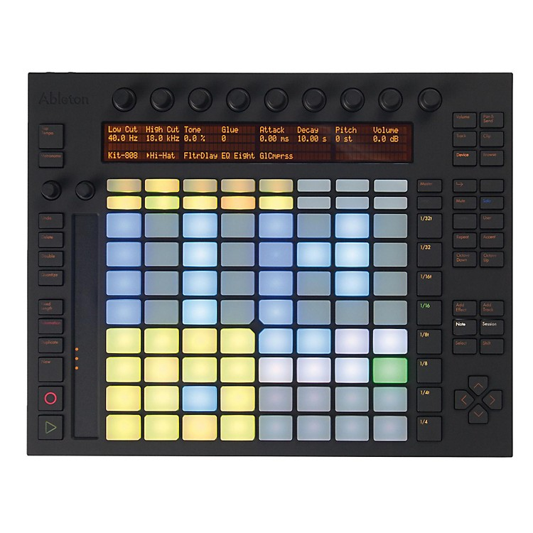 Ableton Push Software Controller Instrument