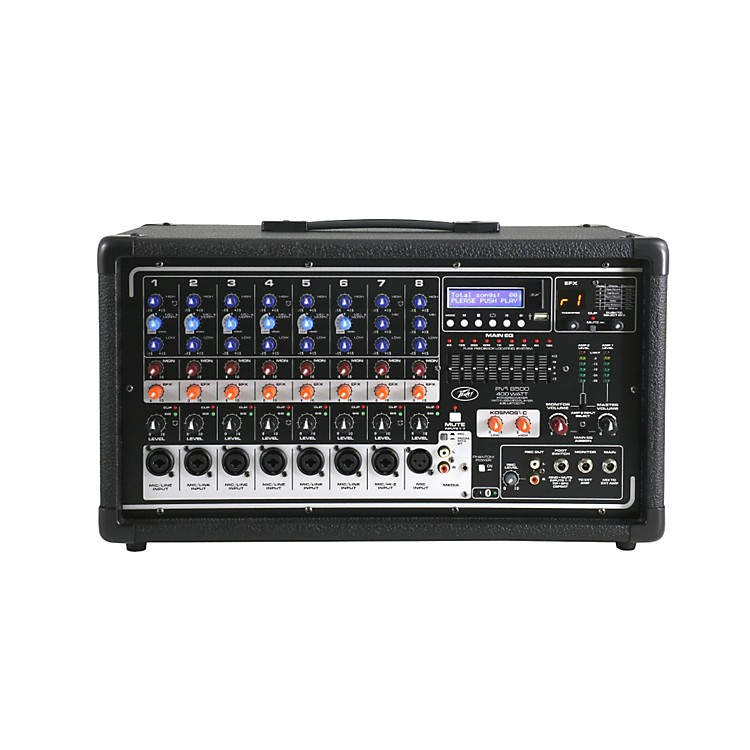 Peavey Pvi8500 8-Channel 400W Powered PA Head w/ Bluetooth and FX