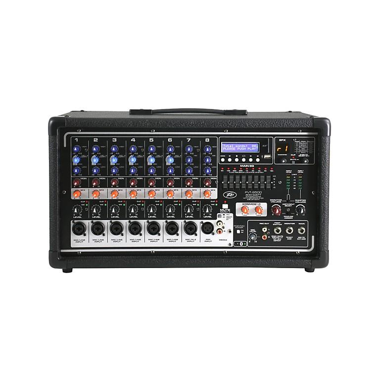 PeaveyPvi8500 8-Channel 400W Powered PA Head w/ Bluetooth and FX