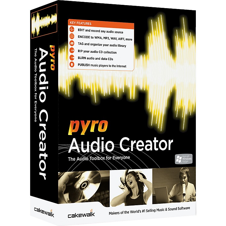 CakewalkPyro Audio Creator