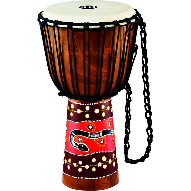 Meinl Python Series Rope Tuned Mahogany Djembe 12 in.