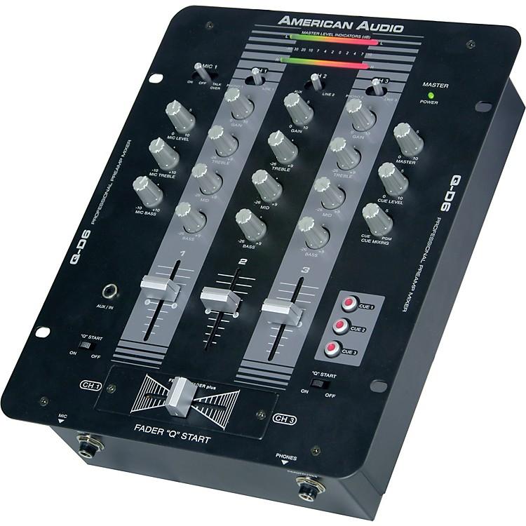 American AudioQ-D6 3-Channel DJ Mixer
