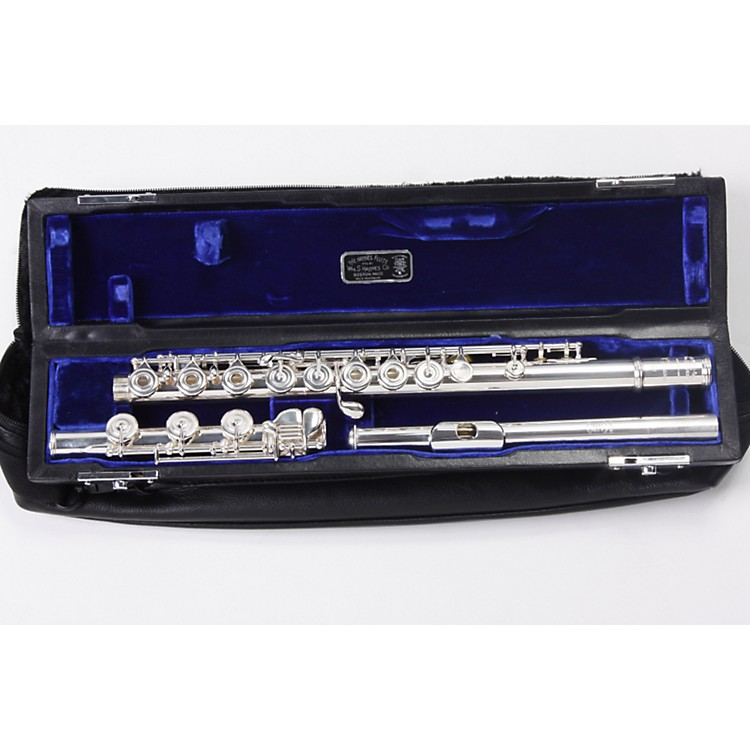 Haynes Q1 Classic Sterling Silver Flute Inline G 886830591655