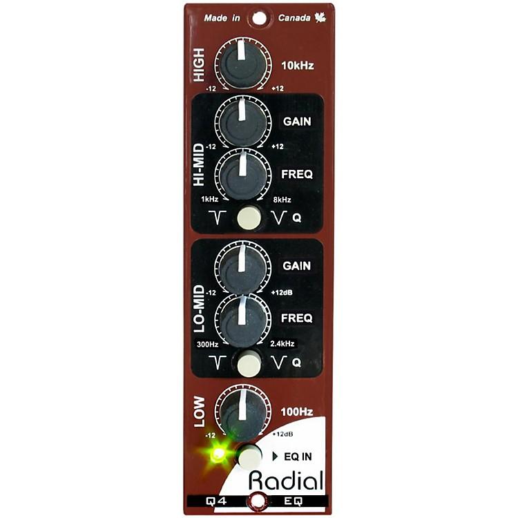 Radial EngineeringQ4 Four Band Semi-Parametric EQ