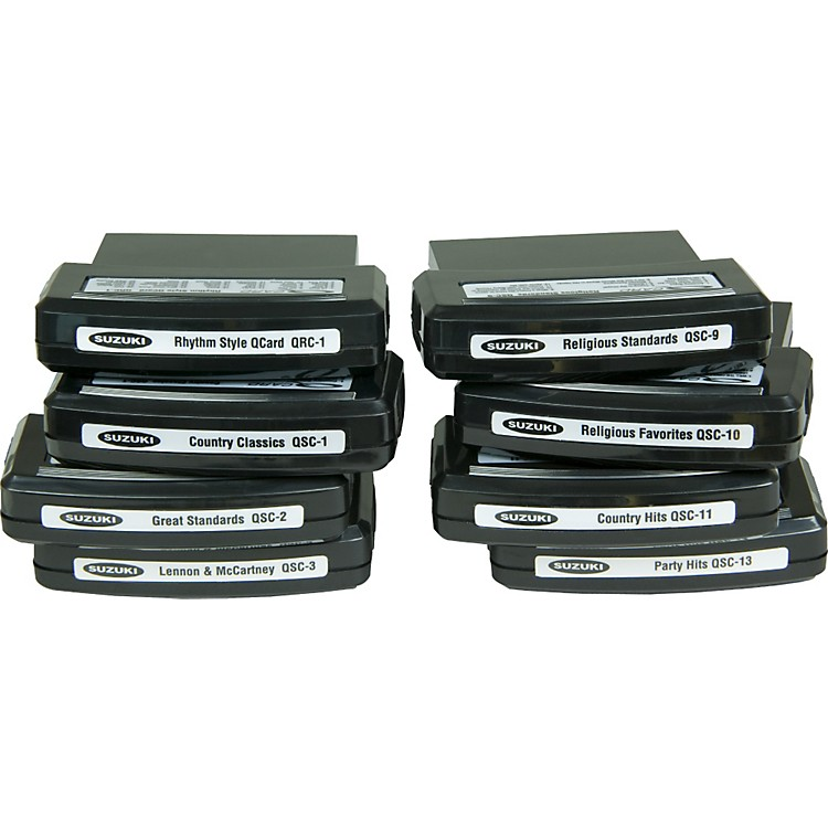 SuzukiQChord Song Cartridges